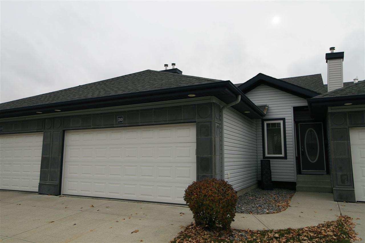Main Photo: 20 3003 34 Avenue in Edmonton: Zone 30 Townhouse for sale : MLS®# E4177110