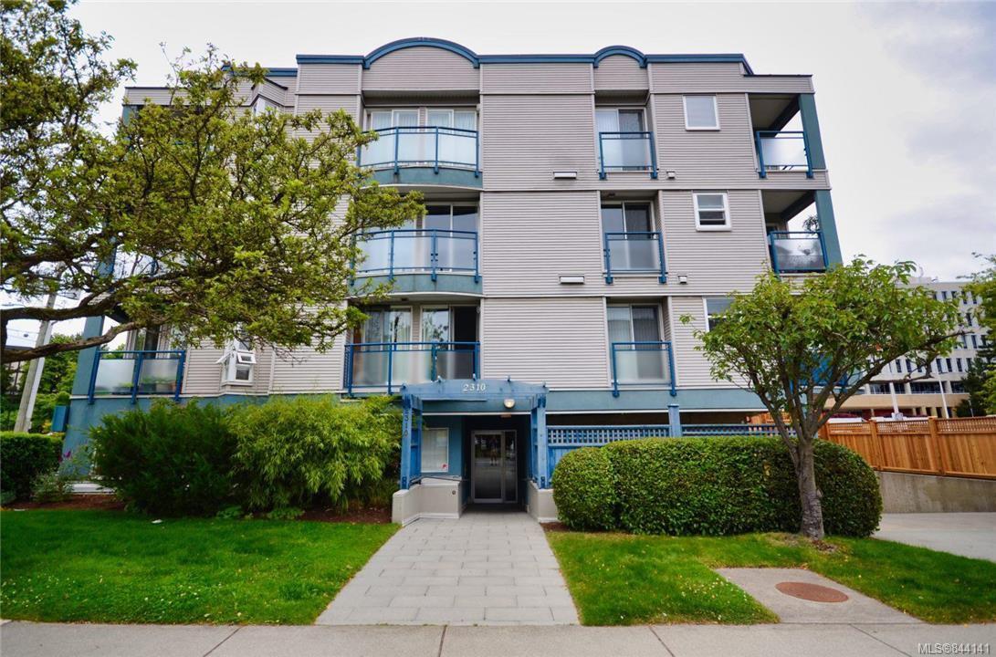 Main Photo: 202 2310 Trent St in Victoria: Vi Jubilee Condo Apartment for sale : MLS®# 844141