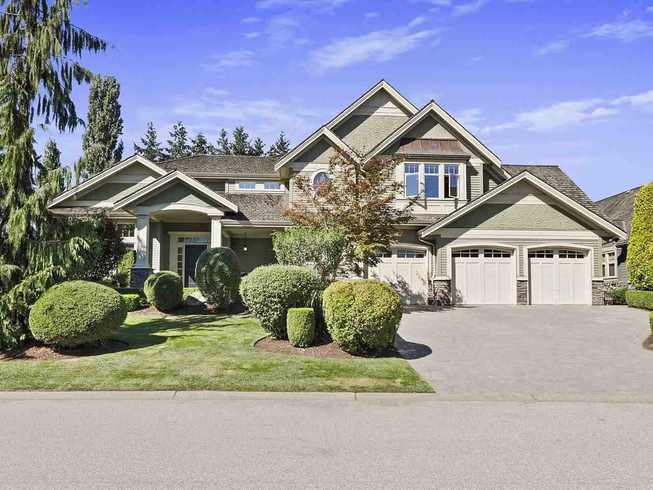 "Main Photo: 15845 39A Avenue in Surrey: Morgan Creek House for sale in ""MORGAN CREEK"" (South Surrey White Rock)  : MLS®# R2493602"