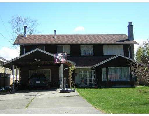 """Main Photo: 7360 BRIDGE ST in Richmond: McLennan North House for sale in """"NONE"""" : MLS®# V586185"""