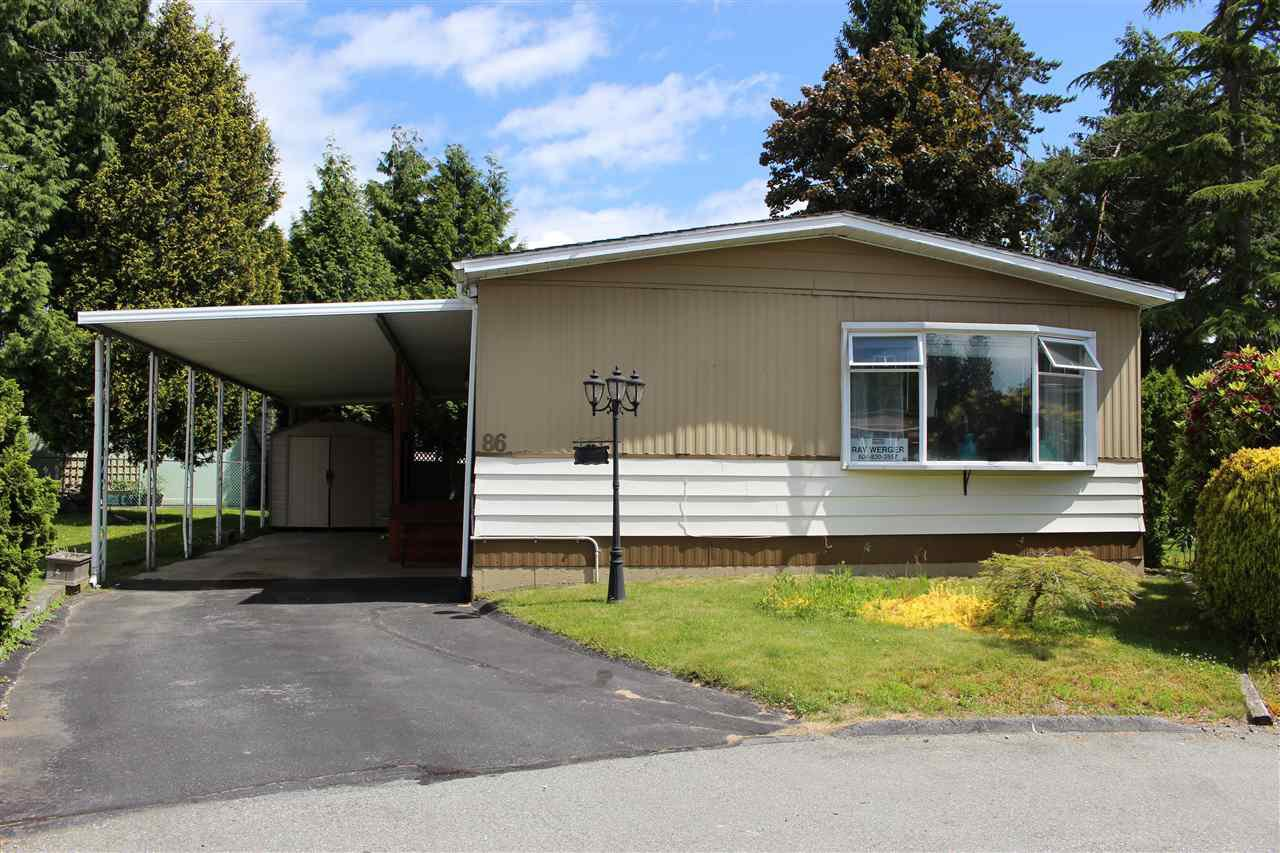 "Main Photo: 86 15875 20 Avenue in Surrey: King George Corridor Manufactured Home for sale in ""SEA RIDGE BAYS"" (South Surrey White Rock)  : MLS®# R2423250"