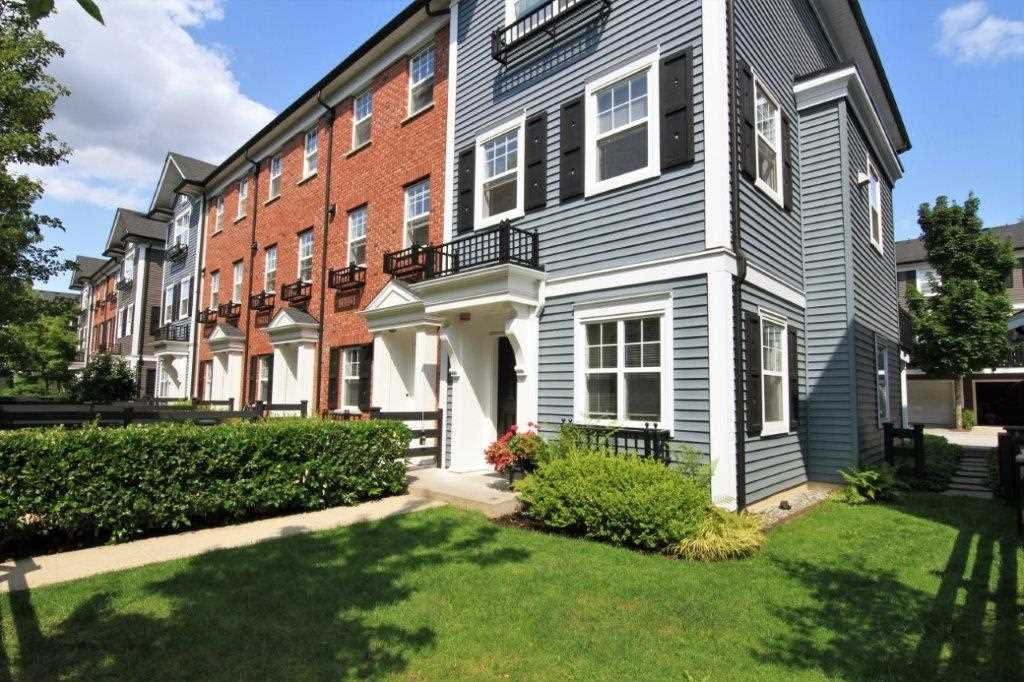 Main Photo: 74 19572 FRASER WAY in : South Meadows Townhouse for sale : MLS®# R2392658