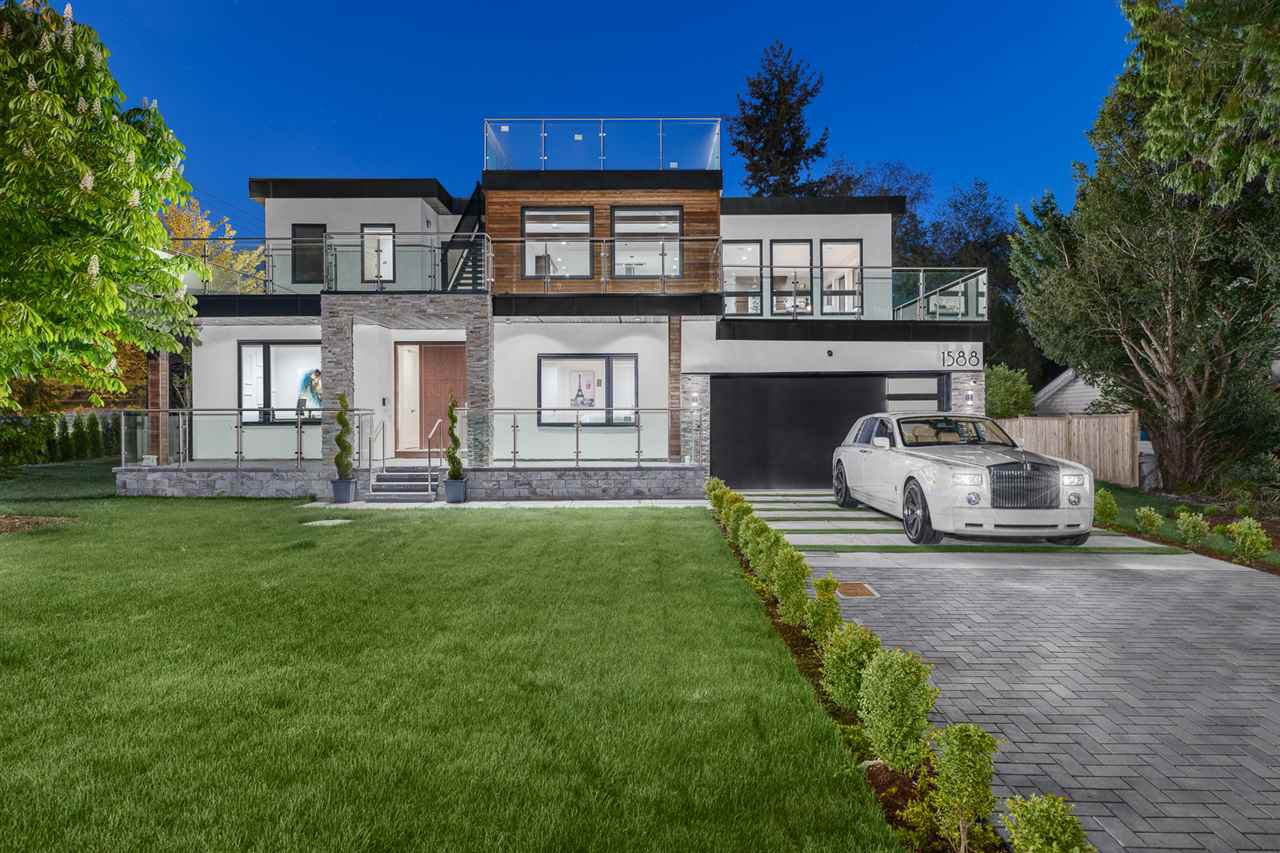 Main Photo: 1588 KERFOOT Road: White Rock House for sale (South Surrey White Rock)  : MLS®# R2505132
