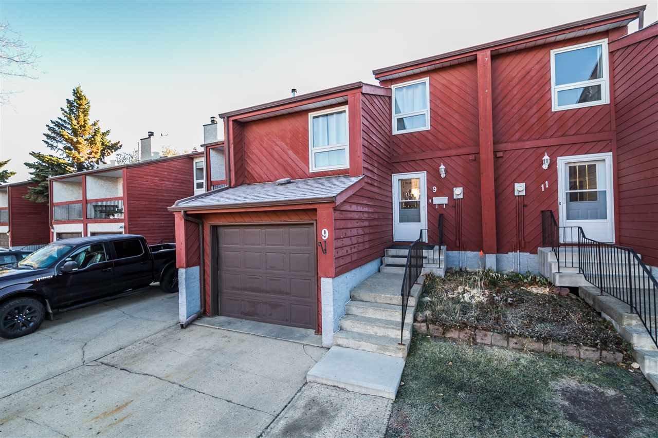9 Lorelei Close Edmonton 3 Bed with Garage Townhouse For Sale E4219446