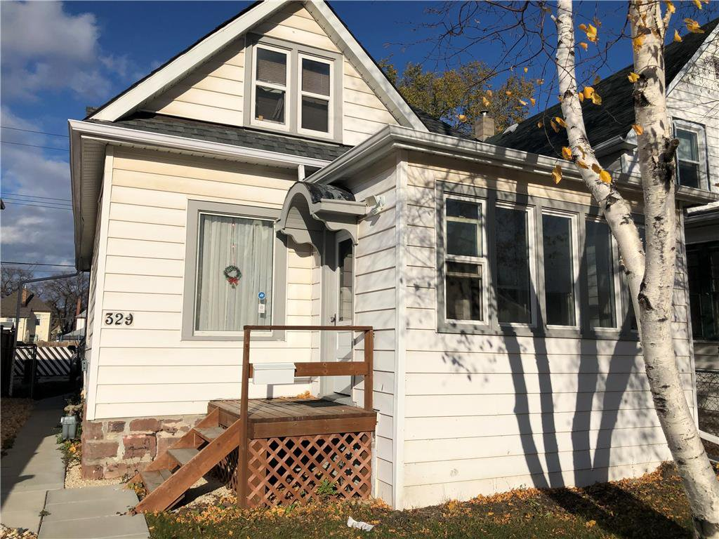 Main Photo: 329 Polson Avenue in Winnipeg: North End Residential for sale (4C)  : MLS®# 202026127