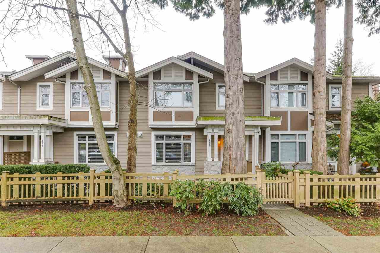 Main Photo: 886 W 58TH Avenue in Vancouver: South Cambie Townhouse for sale (Vancouver West)  : MLS®# R2470075