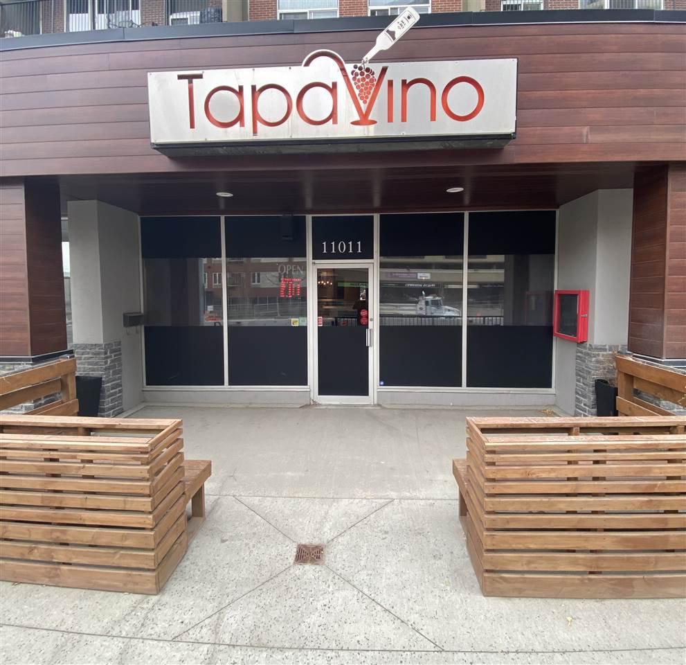 Main Photo: 11025 JASPER Avenue in Edmonton: Zone 12 Retail for sale : MLS®# E4217307