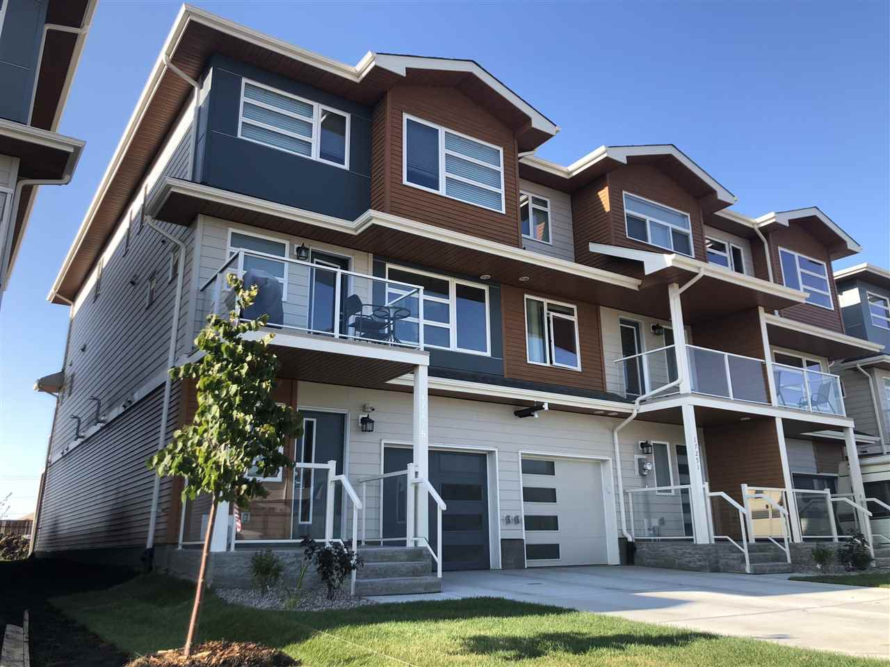 Main Photo: 17245 9 AVE SW in Edmonton: Zone 56 Attached Home for sale : MLS®# E4168616
