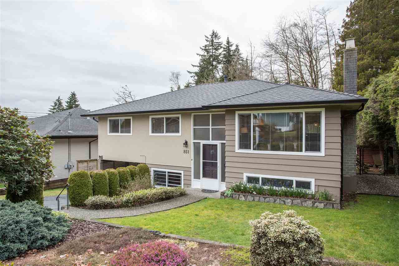 Main Photo: 851 PLYMOUTH Drive in North Vancouver: Windsor Park NV House for sale : MLS®# R2448395
