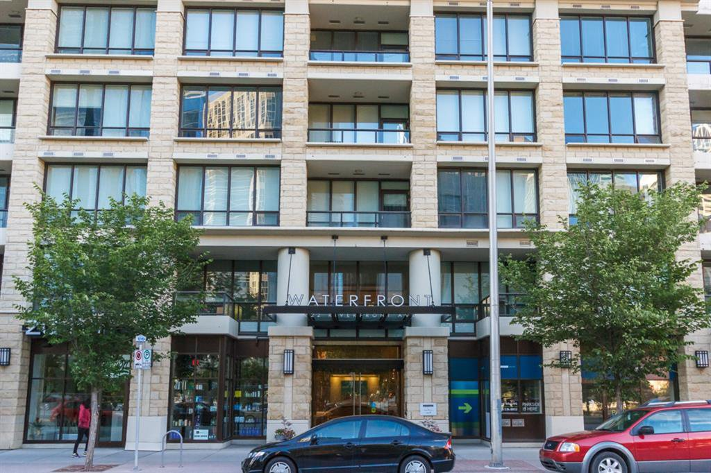 Main Photo: 826 222 RIVERFRONT Avenue SW in Calgary: Eau Claire Apartment for sale : MLS®# A1034122