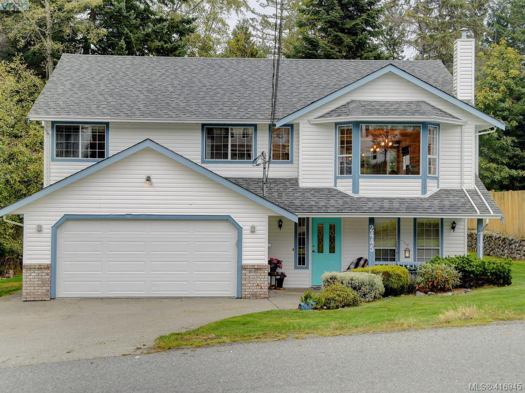 Main Photo: 2445 Mountain Heights Dr in SOOKE: Sk Broomhill House for sale (Sooke)  : MLS®# 827136