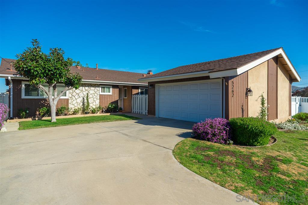 Main Photo: DEL CERRO House for sale : 3 bedrooms : 5262 Lewison Place in San Diego