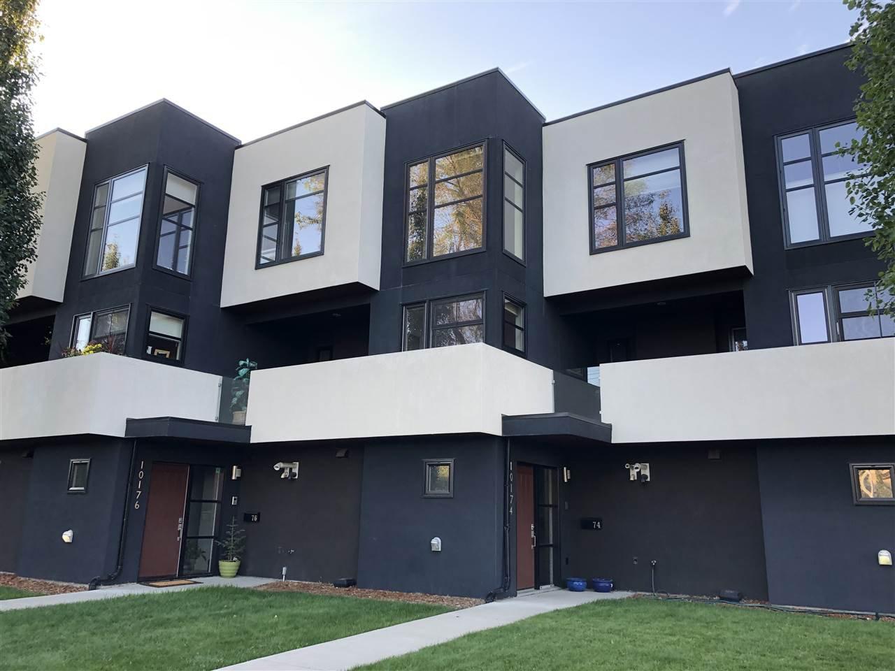 Main Photo: 10174 143 Street in Edmonton: Zone 21 Townhouse for sale : MLS®# E4208068