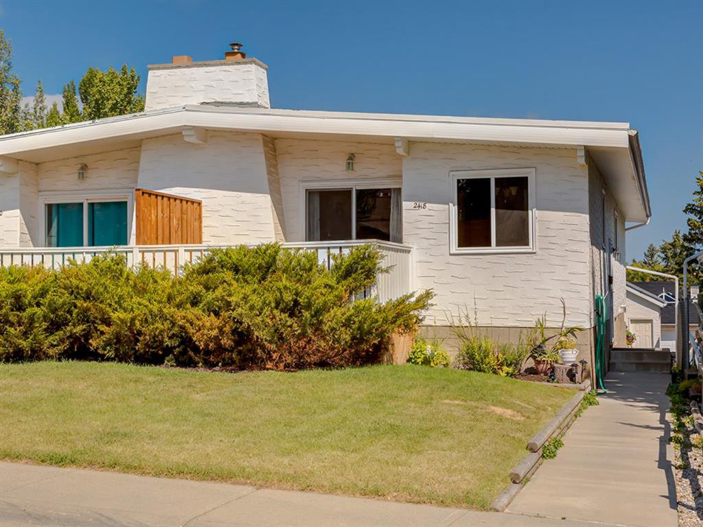 Main Photo: 2418 98 Avenue SW in Calgary: Palliser Duplex for sale : MLS®# A1025542