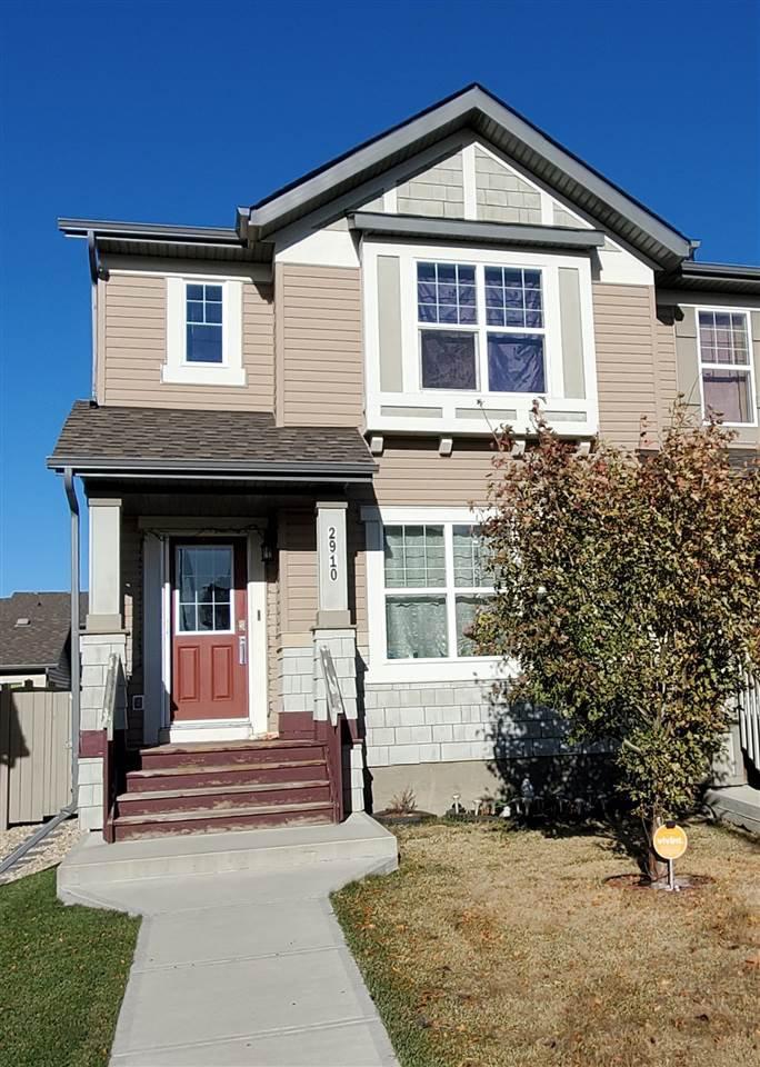 Main Photo: 2910 18A Avenue NW in Edmonton: Zone 30 House Half Duplex for sale : MLS®# E4219373