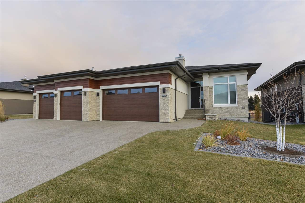 Main Photo: 938 WOOD Place in Edmonton: Zone 56 House Half Duplex for sale : MLS®# E4178634