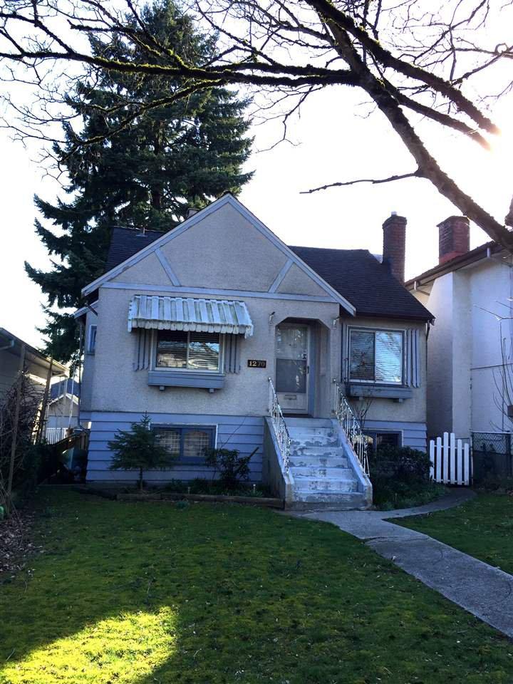 Main Photo: 1270 KELOWNA Street in Vancouver: Renfrew VE House for sale (Vancouver East)  : MLS®# R2446967