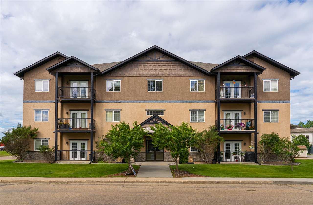 Main Photo: 101 5401 37a Avenue: Wetaskiwin Condo for sale : MLS®# E4206029