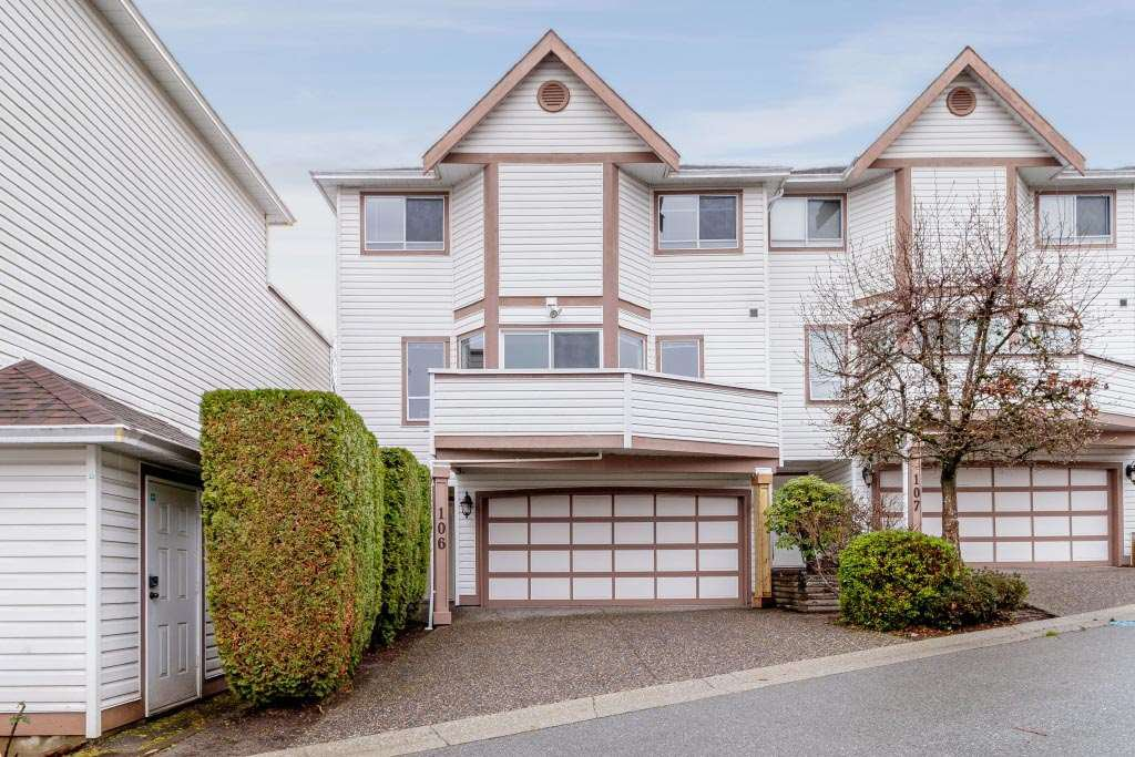 """Main Photo: 106 1232 JOHNSON Street in Coquitlam: Scott Creek Townhouse for sale in """"GREENHILL PLACE"""" : MLS®# R2423367"""