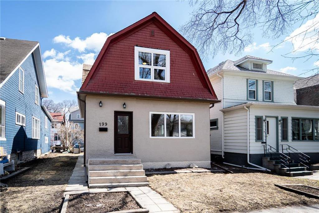 Main Photo: 199 Lipton Street in Winnipeg: Wolseley Residential for sale (5B)  : MLS®# 202008124