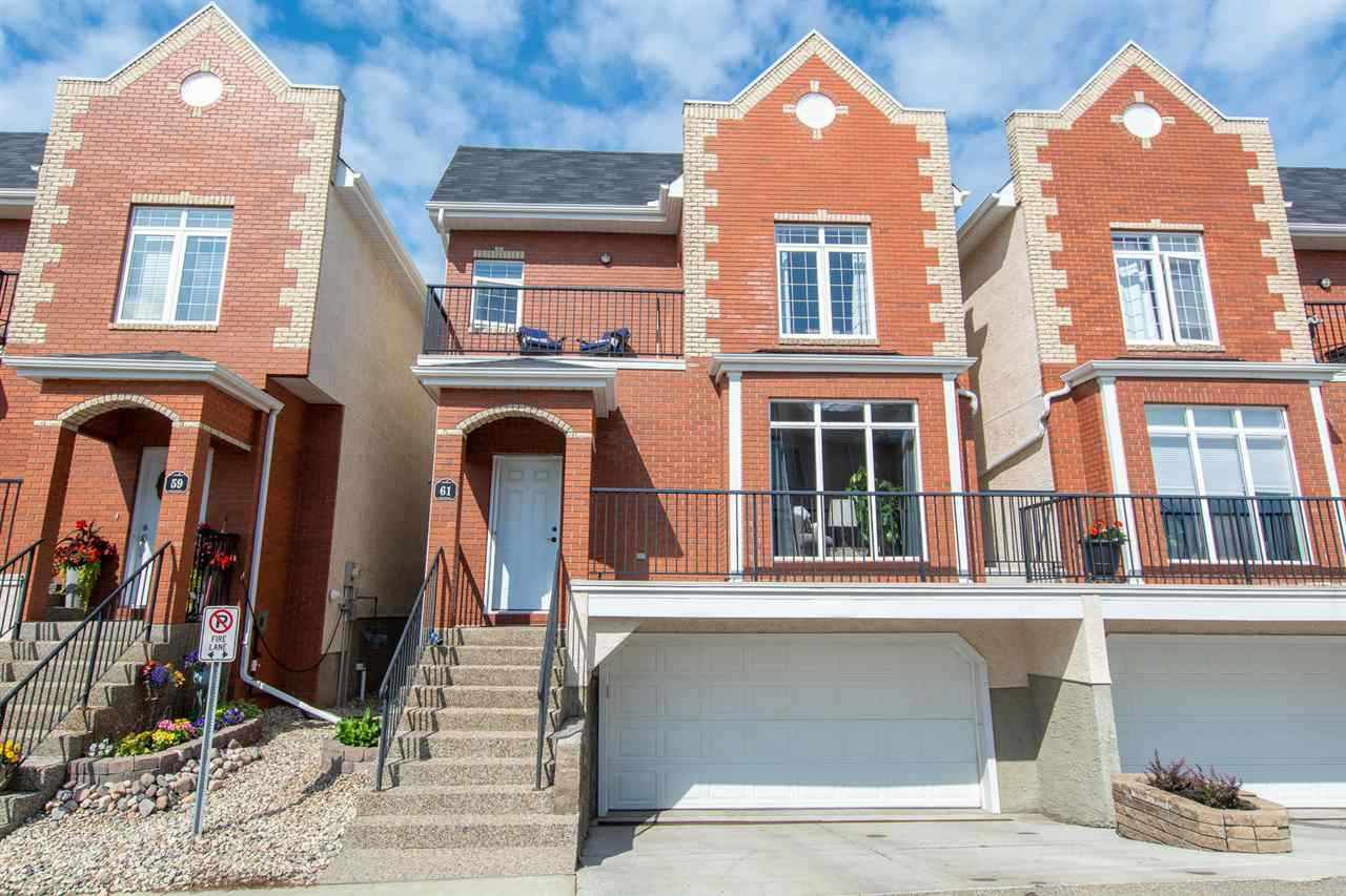 Main Photo: 61 8403 164 Avenue in Edmonton: Zone 28 Townhouse for sale : MLS®# E4202291