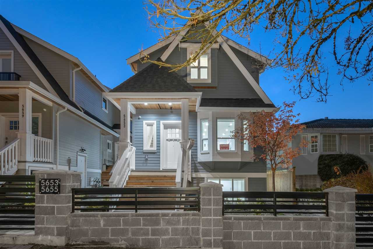 Main Photo: 5653 EARLES Street in Vancouver: Killarney VE 1/2 Duplex for sale (Vancouver East)  : MLS®# R2514560