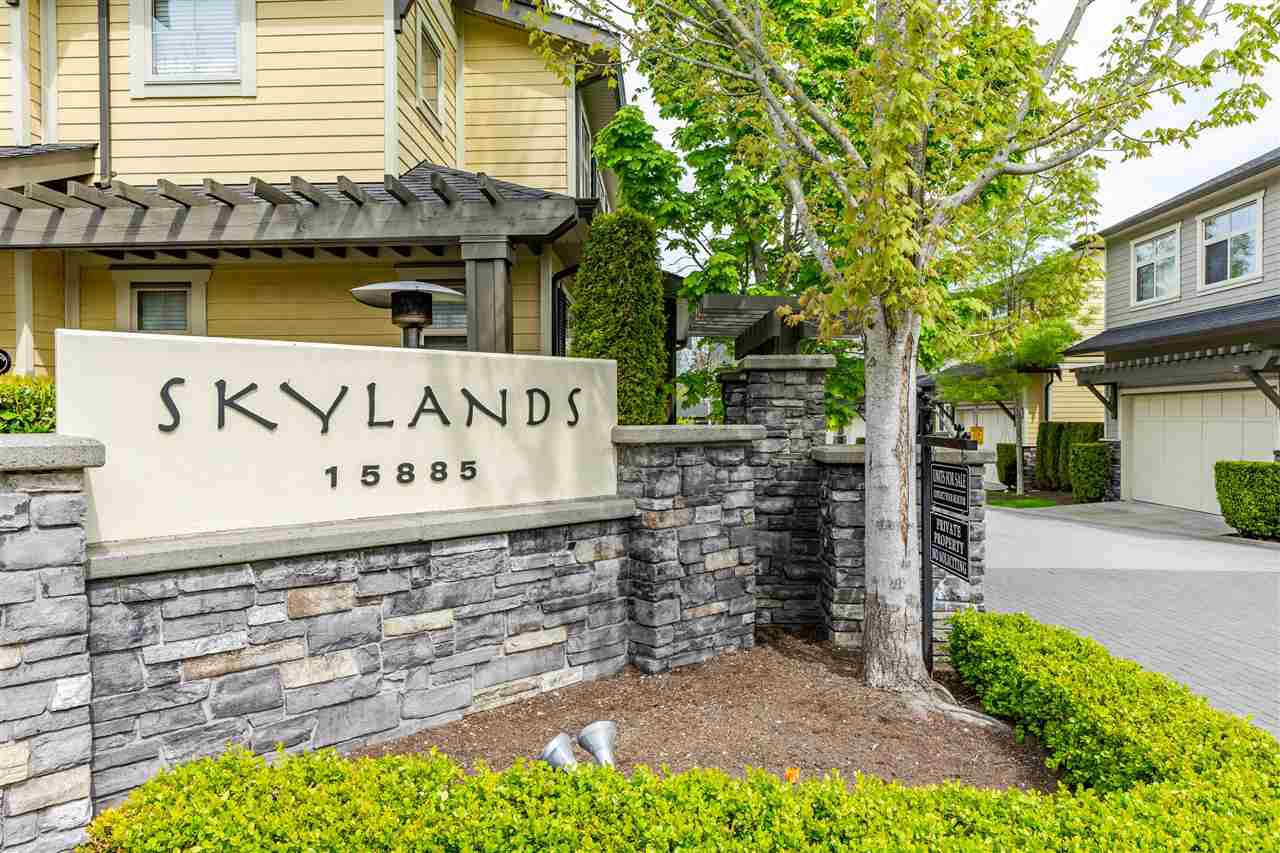 Main Photo: 11 15885 26 AVENUE in Surrey: Grandview Surrey Townhouse for sale (South Surrey White Rock)  : MLS®# R2418345