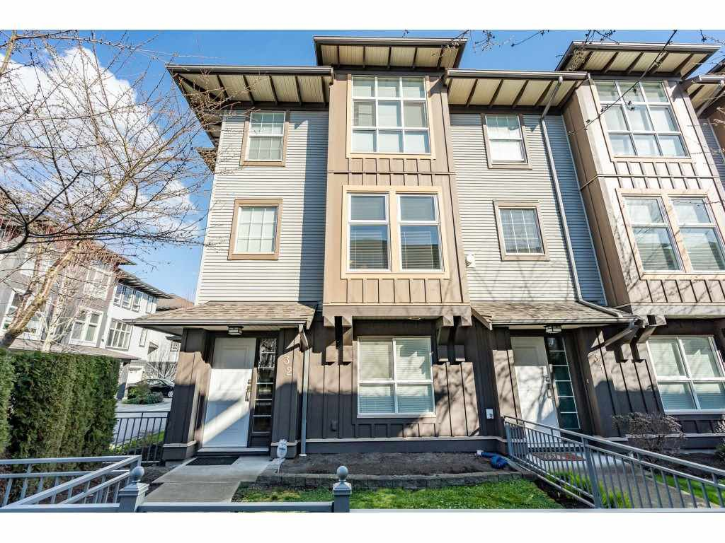 "Main Photo: 32 18777 68A Avenue in Surrey: Clayton Townhouse for sale in ""COMPASS"" (Cloverdale)  : MLS®# R2443776"
