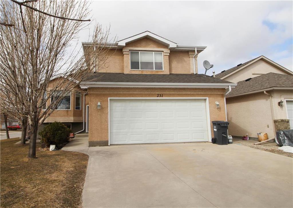 Main Photo: 231 Jacques Avenue in Winnipeg: Kildonan Estates Residential for sale (3J)  : MLS®# 202007787