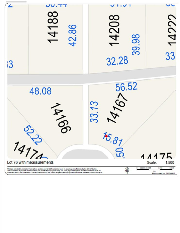 "Main Photo: 14167 83 Avenue in Surrey: Bear Creek Green Timbers Land for sale in ""Brookside Estates"" : MLS®# R2463837"