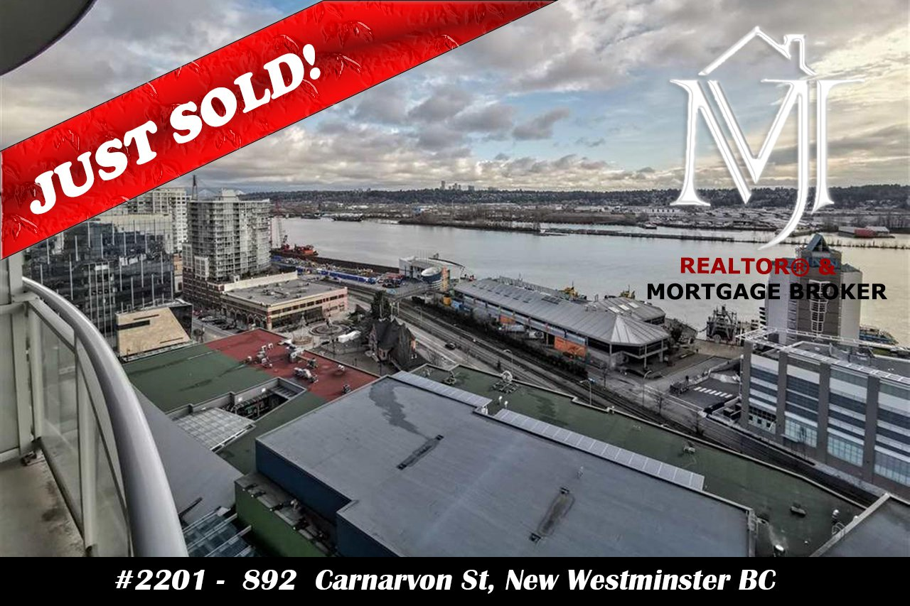 Main Photo: 2201 892 CARNARVON STREET in New Westminster: Downtown NW Condo for sale : MLS®# R2499563