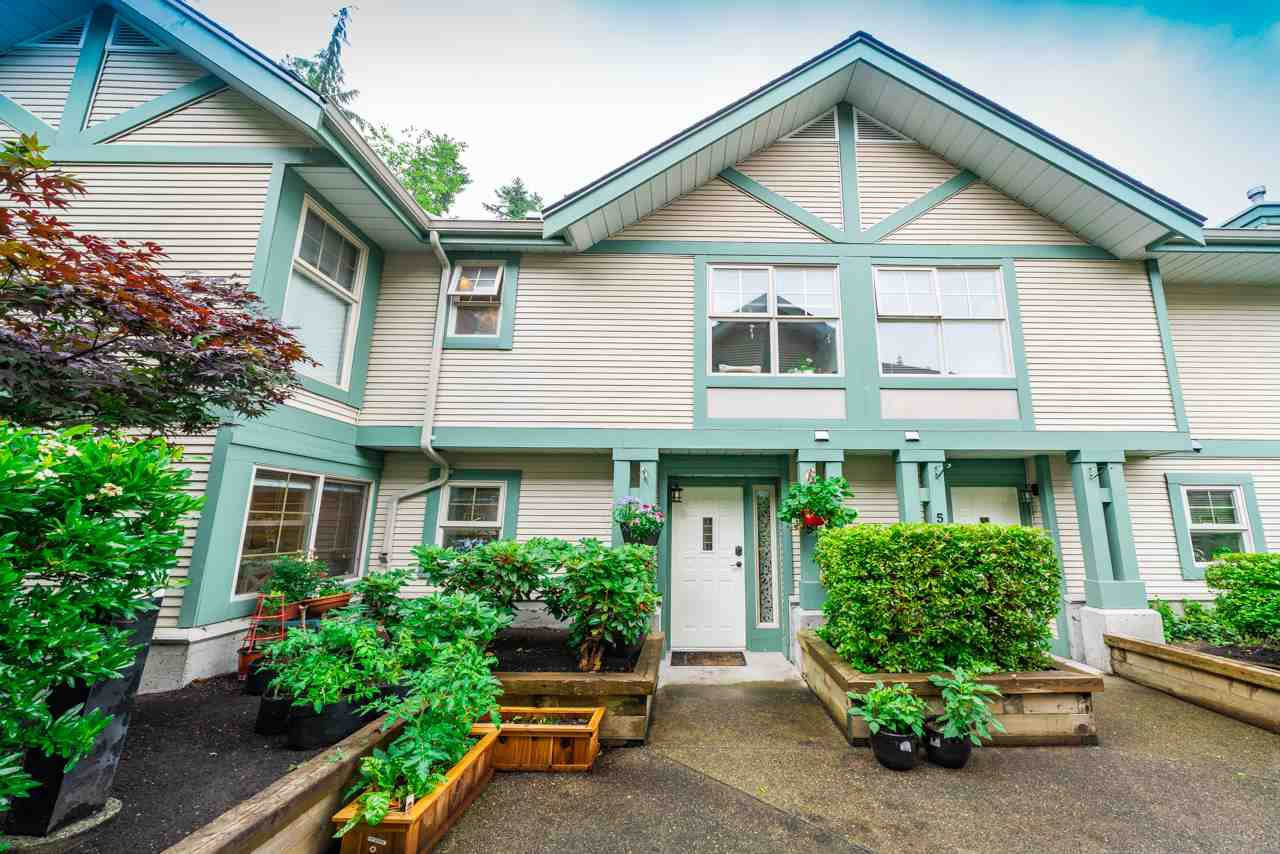 "Main Photo: 55 65 FOXWOOD Drive in Port Moody: Heritage Mountain Townhouse for sale in ""FOREST HILLS"" : MLS®# R2470741"