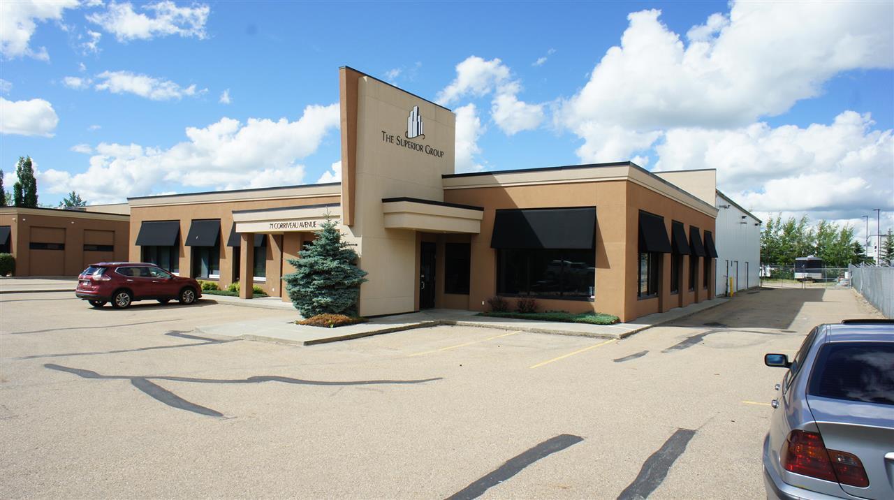Main Photo: 120 71 Corriveau Avenue: St. Albert Industrial for lease : MLS®# E4207829
