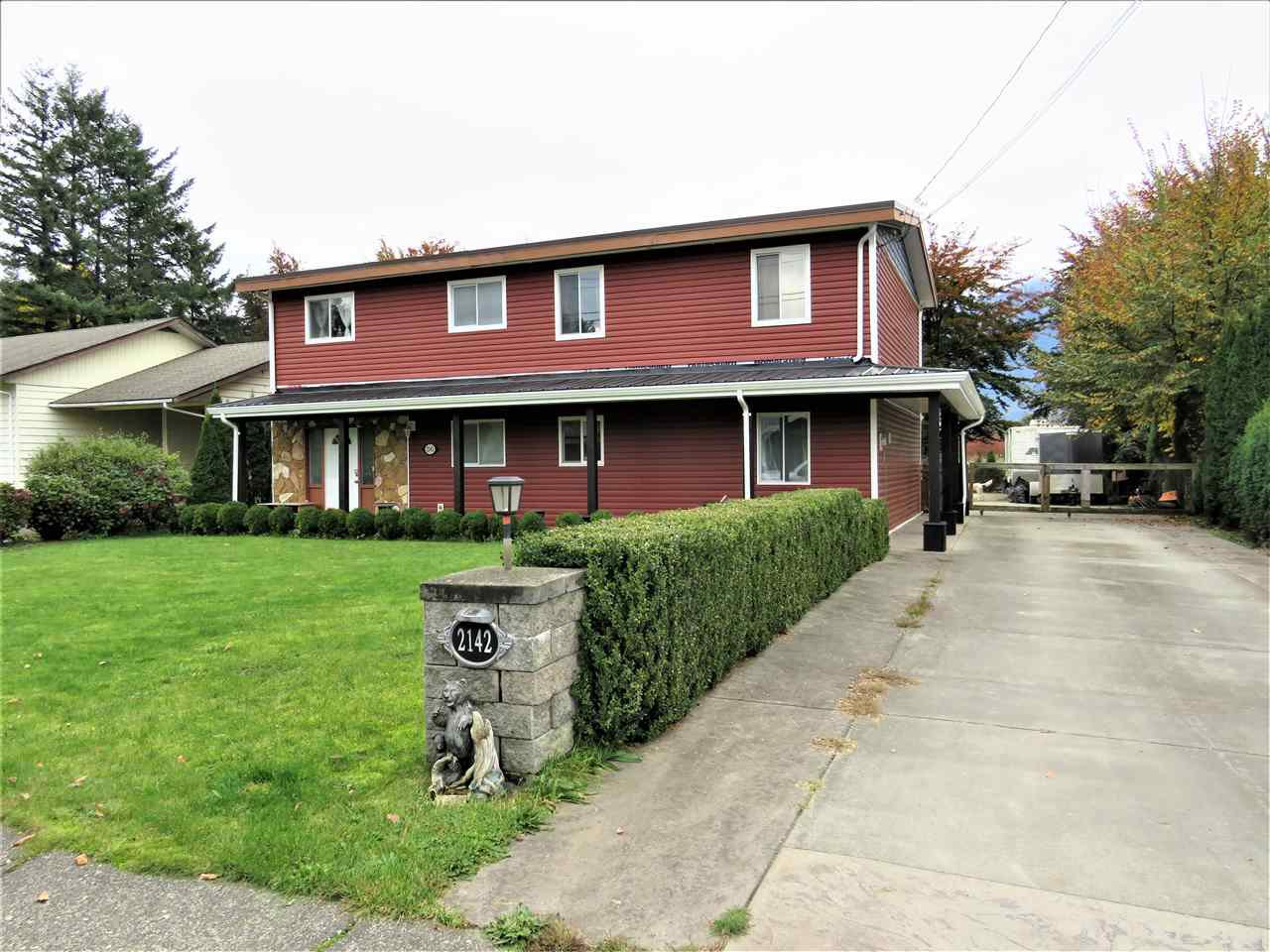 Main Photo: 2142 MCCAFFREY Road: Agassiz House for sale : MLS®# R2427686