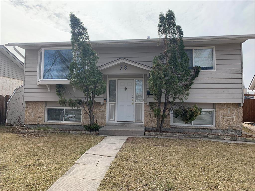 Main Photo: 78 Sumter Crescent in Winnipeg: Garden Grove Residential for sale (4K)  : MLS®# 202008763