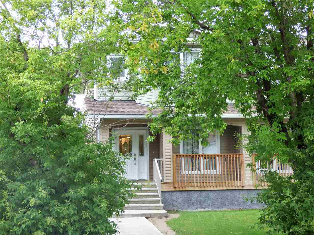 Main Photo: 10708 151 Street in Edmonton: Zone 21 House Half Duplex for sale : MLS®# E4166574