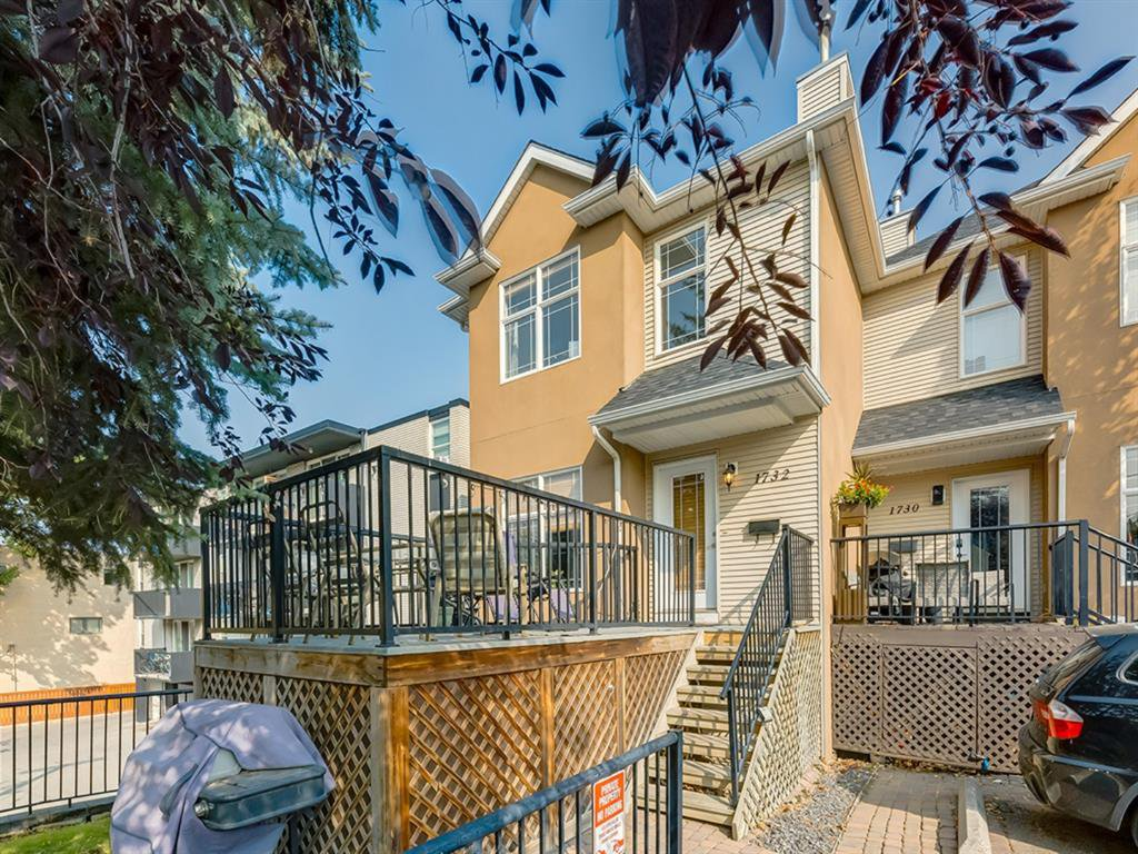 Main Photo: 1732 21 Avenue SW in Calgary: Bankview Row/Townhouse for sale : MLS®# A1034441