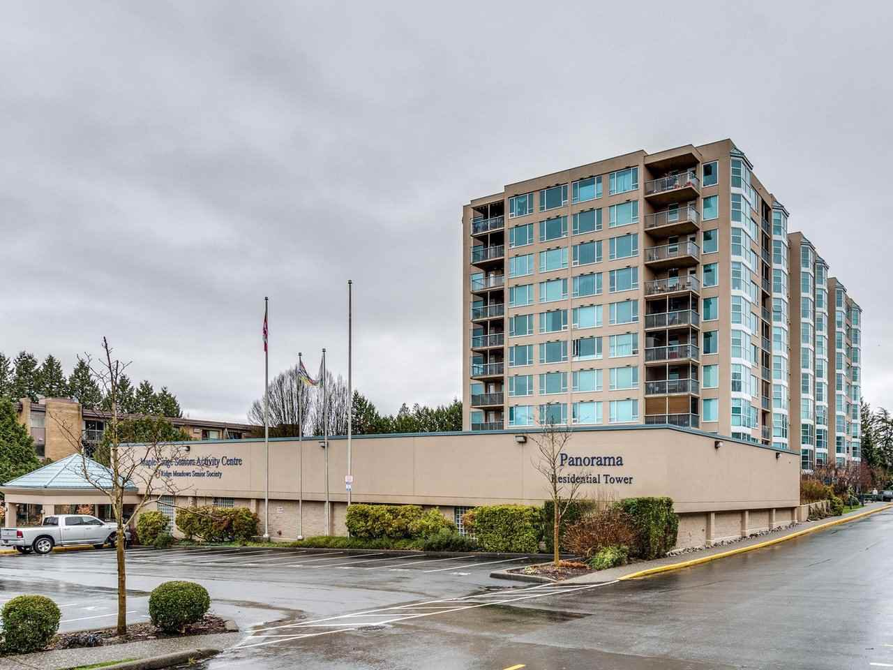 "Main Photo: 706 12148 224 Street in Maple Ridge: East Central Condo for sale in ""Panorama"" : MLS®# R2527237"