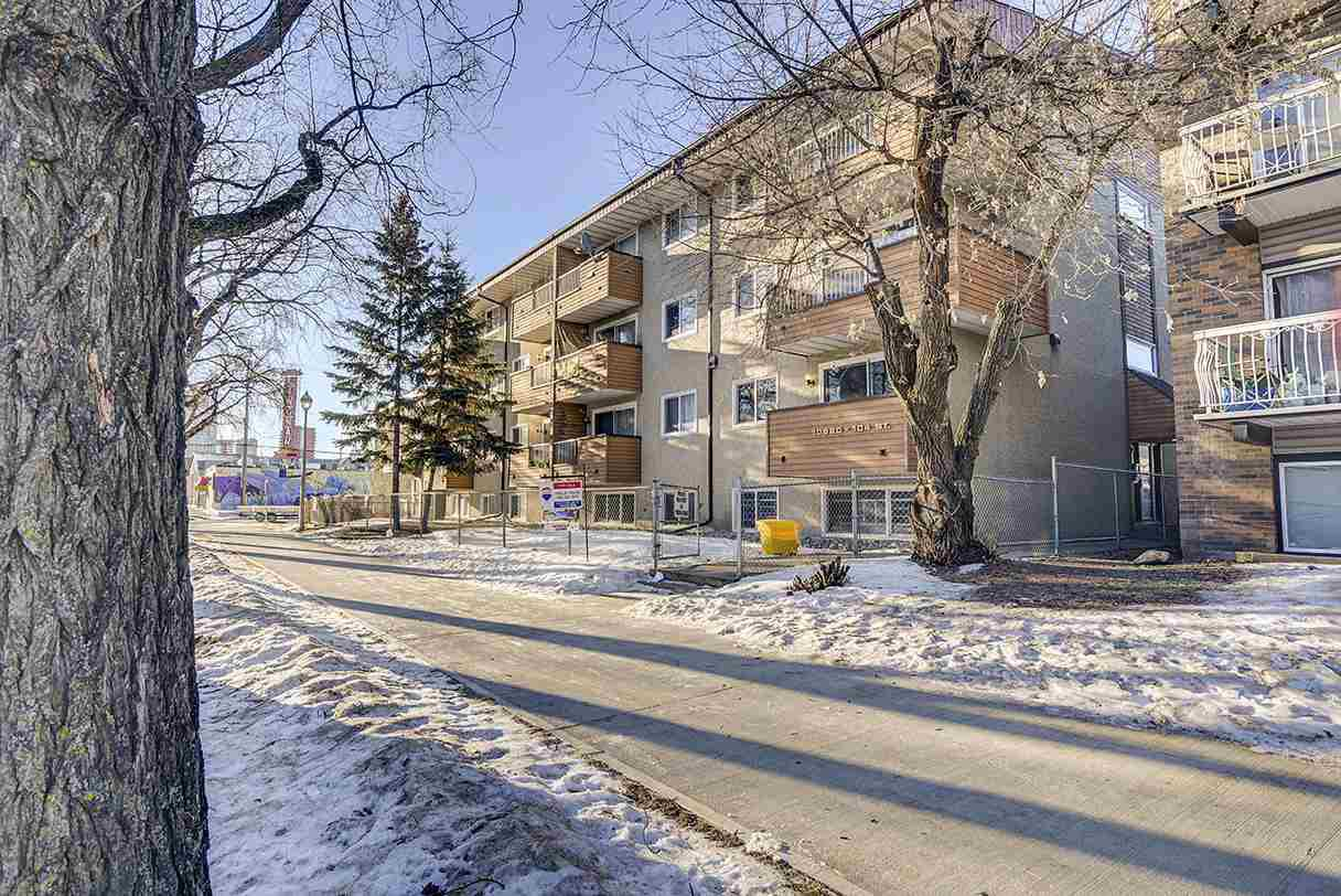 Main Photo: 105 10620 104 Street in Edmonton: Zone 08 Condo for sale : MLS®# E4224820
