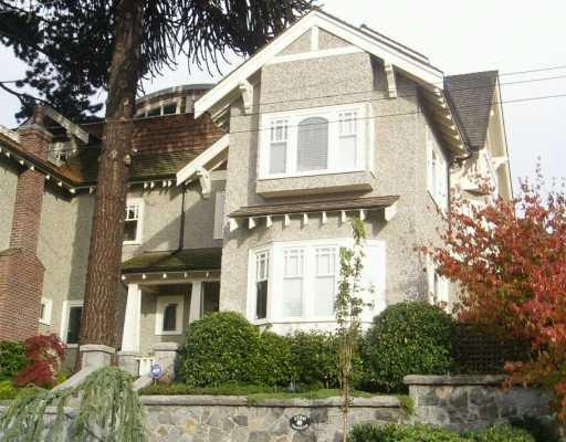 Main Photo: 1720 TRAFALGAR ST in Vancouver: Kitsilano 1/2 Duplex for sale (Vancouver West)  : MLS®# V563870