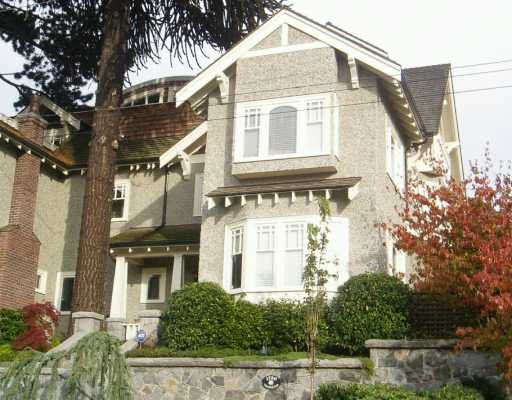 Main Photo: 1720 TRAFALGAR ST in Vancouver: Kitsilano House 1/2 Duplex for sale (Vancouver West)  : MLS®# V563870