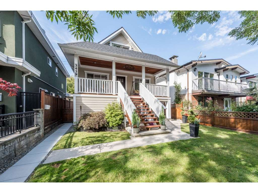 Main Photo: 3439 NAPIER STREET in : Renfrew VE House for sale (Vancouver East)  : MLS®# R2213563