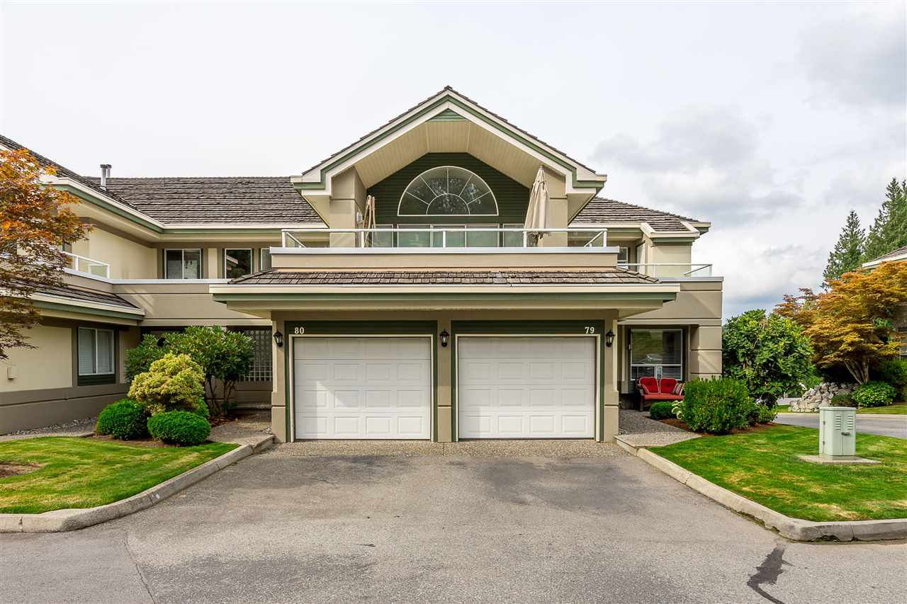 """Photo 1: Photos: 79 4001 OLD CLAYBURN Road in Abbotsford: Abbotsford East Townhouse for sale in """"Cedar Springs"""" : MLS®# R2427532"""