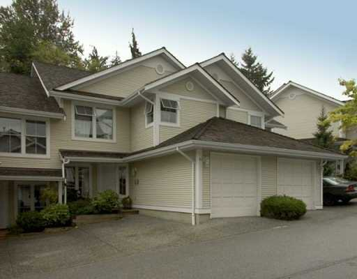 "Main Photo: 10 2590 PANORAMA DR in Coquitlam: Westwood Plateau Townhouse for sale in ""BUCKINGHAM CRT"" : MLS®# V611443"