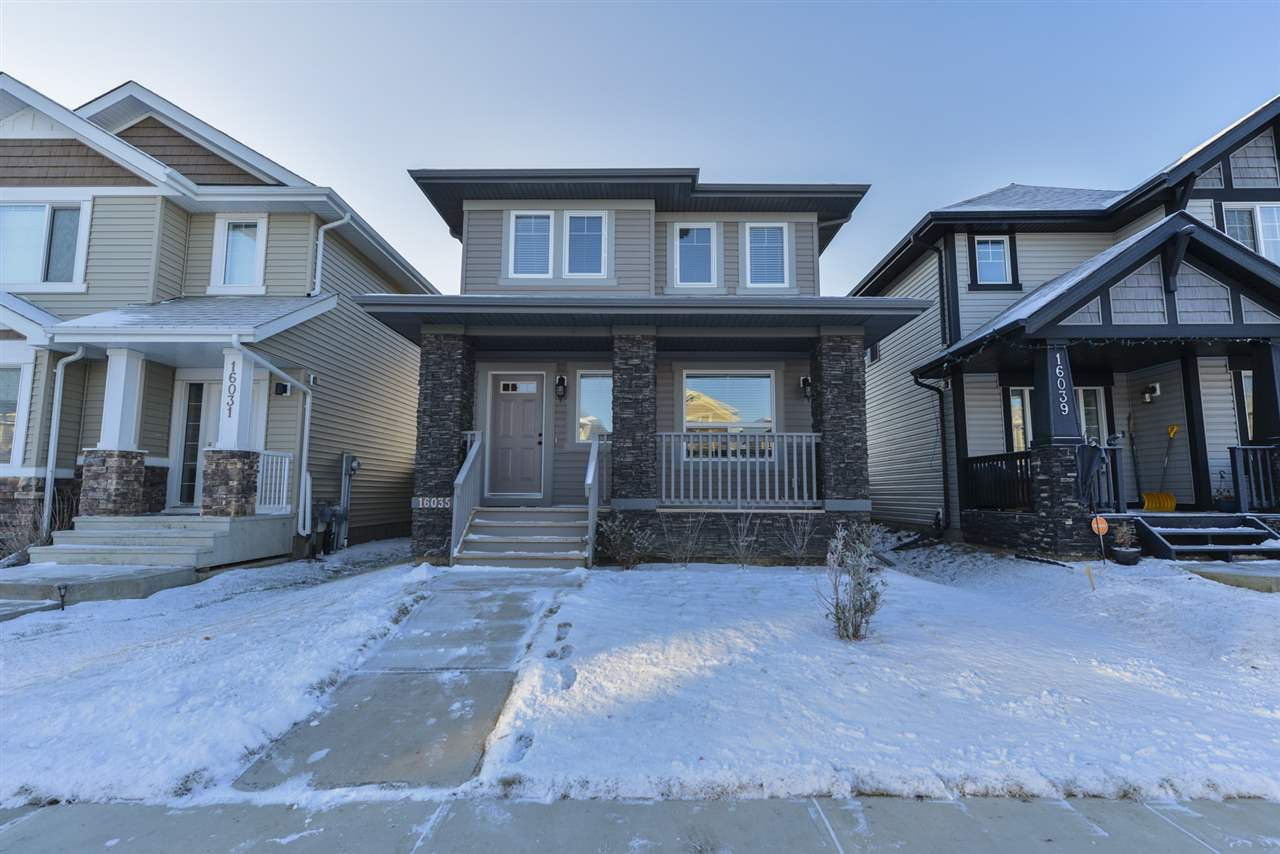 Main Photo: 16035 11 Avenue in Edmonton: Zone 56 House for sale : MLS®# E4179752