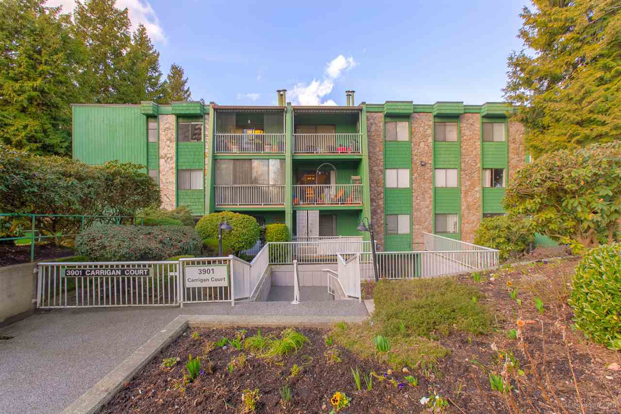 "Main Photo: 109 3901 CARRIGAN Court in Burnaby: Government Road Condo for sale in ""Lougheed Estates II"" (Burnaby North)  : MLS®# R2445357"