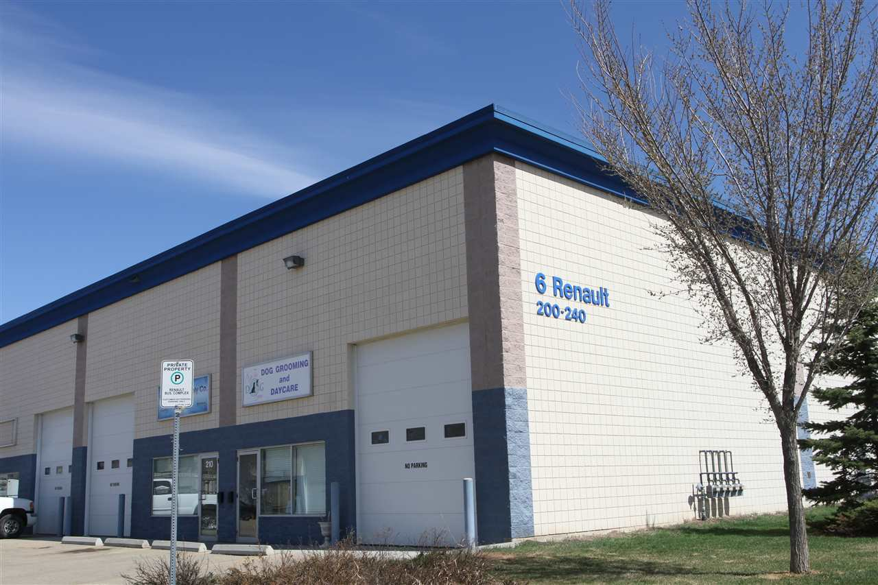 Main Photo: 200 6 Renault Crescent: St. Albert Industrial for lease : MLS®# E4203161