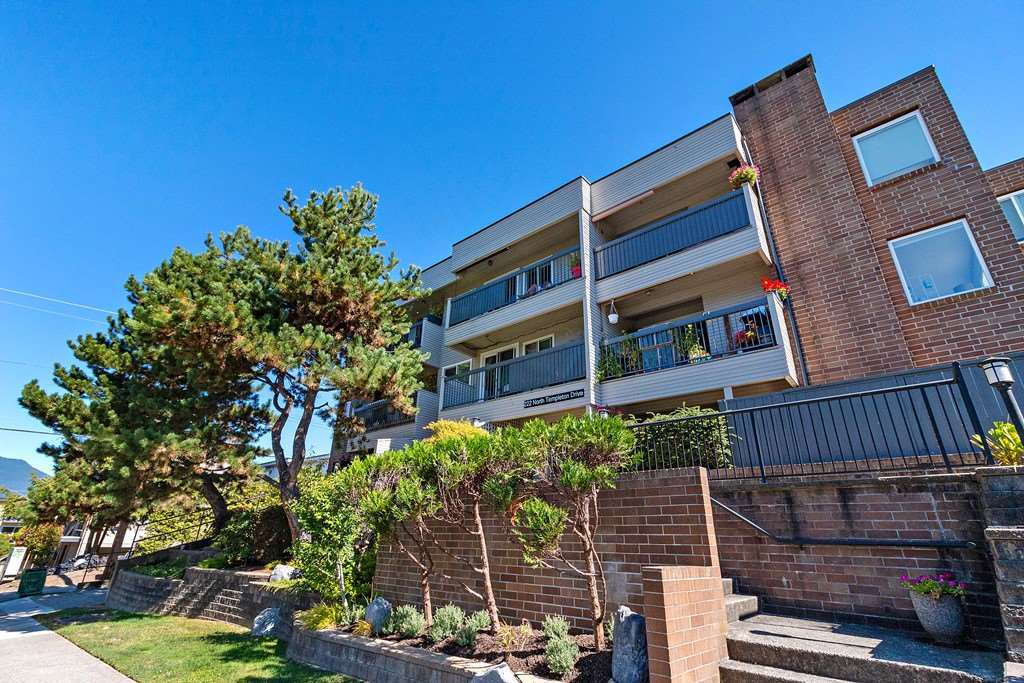"""Main Photo: 304 222 N TEMPLETON Drive in Vancouver: Hastings Condo for sale in """"Cambridge Court"""" (Vancouver East)  : MLS®# R2496274"""