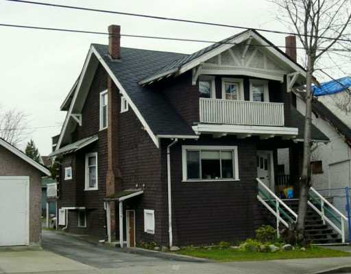 Main Photo: 2119 - 2121 MACDONALD ST in Vancouver: Kitsilano House Triplex for sale (Vancouver West)  : MLS®# V579073