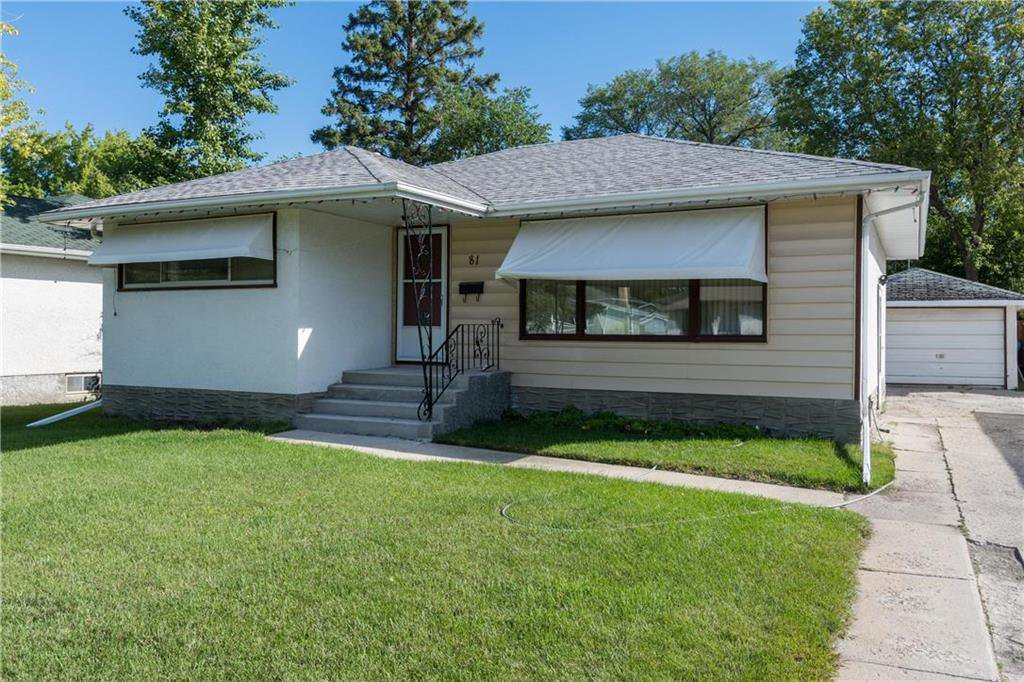 Main Photo: 81 Crowson Bay in Winnipeg: East Fort Garry Residential for sale (1J)  : MLS®# 202022486